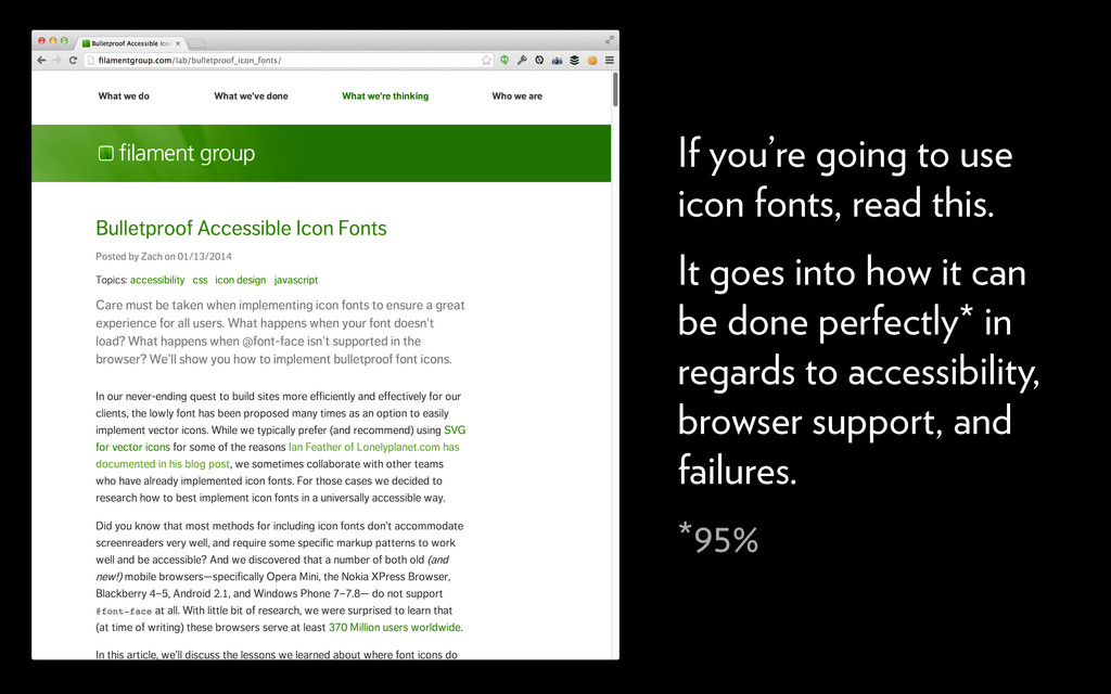 If you're going to use icon fonts, read this. I...