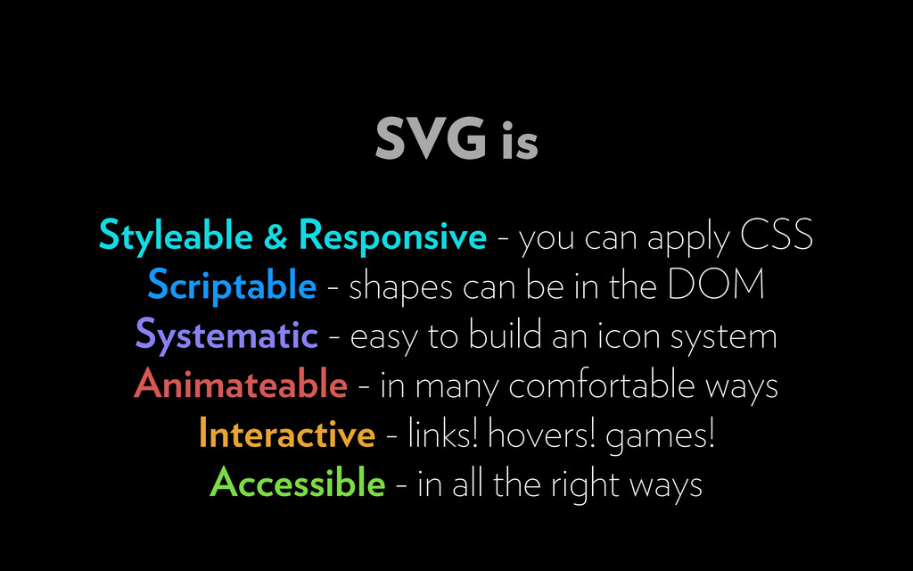 Styleable & Responsive - you can apply CSS Scri...