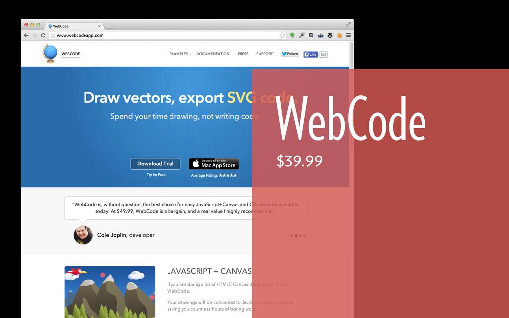 WebCode $39.99