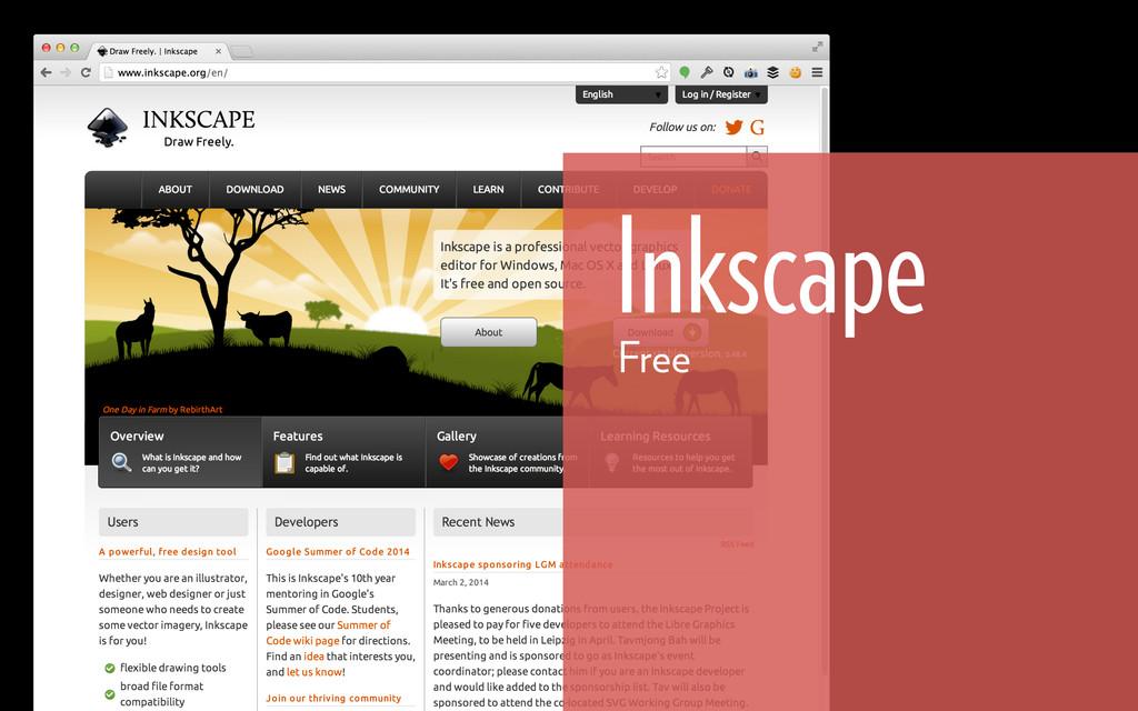Inkscape Free