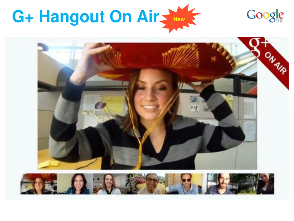 G+ Hangout On Air New