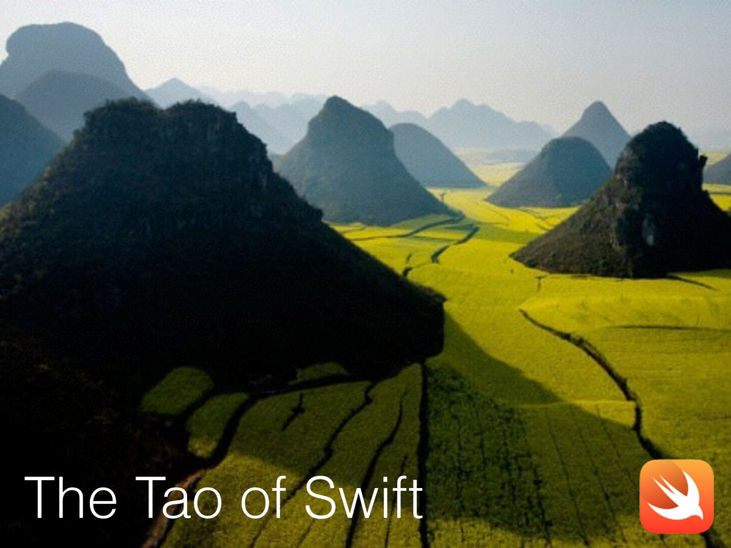 The Tao of Swift