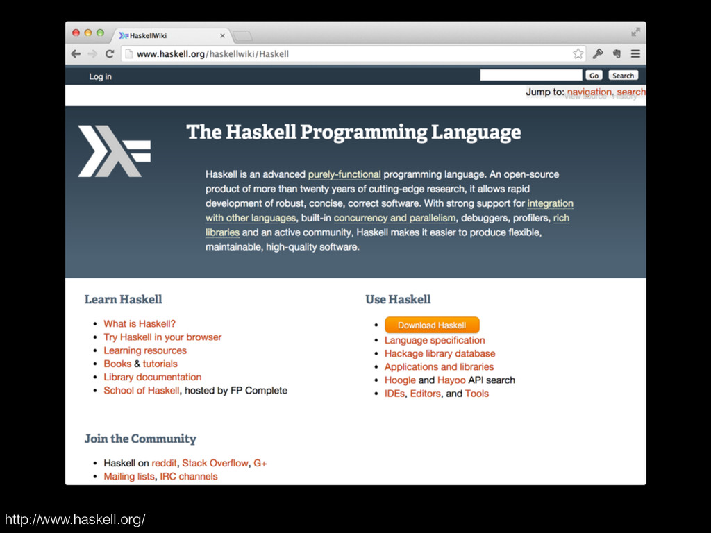 http://www.haskell.org/