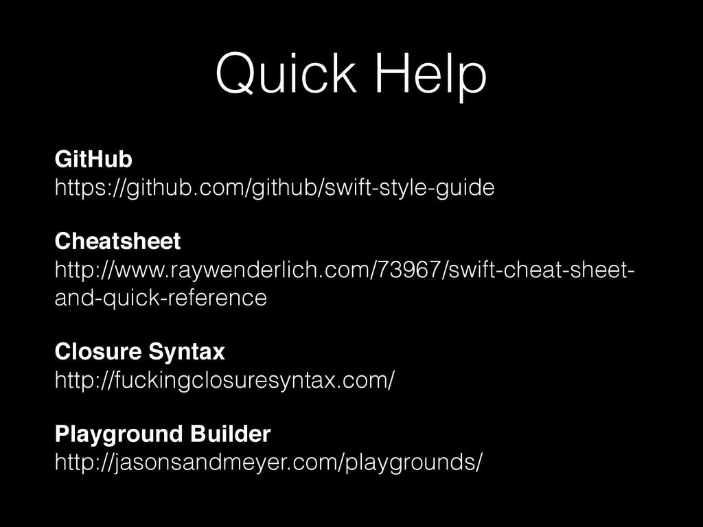 Quick Help GitHub  https://github.com/github/s...