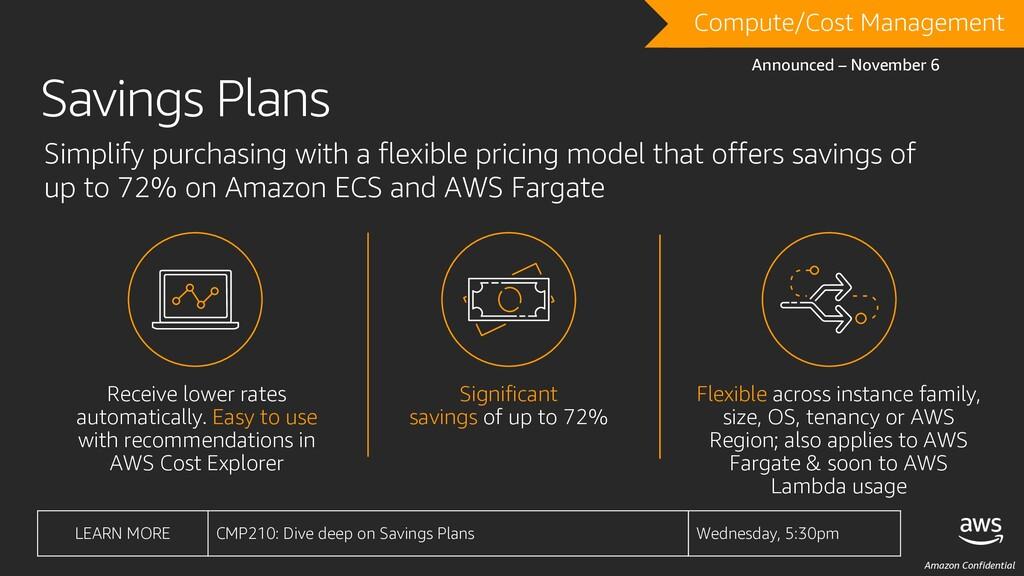 Amazon Confidential Receive lower rates automat...