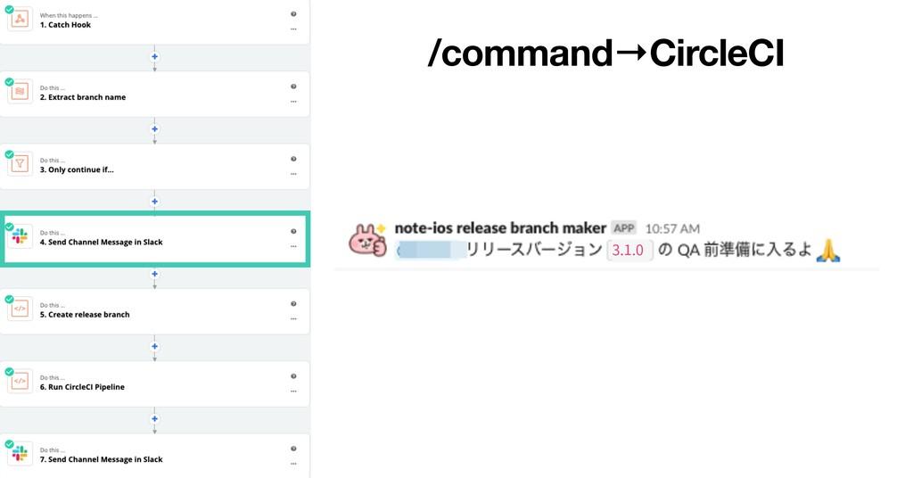 /command→CircleCI 3.1.0
