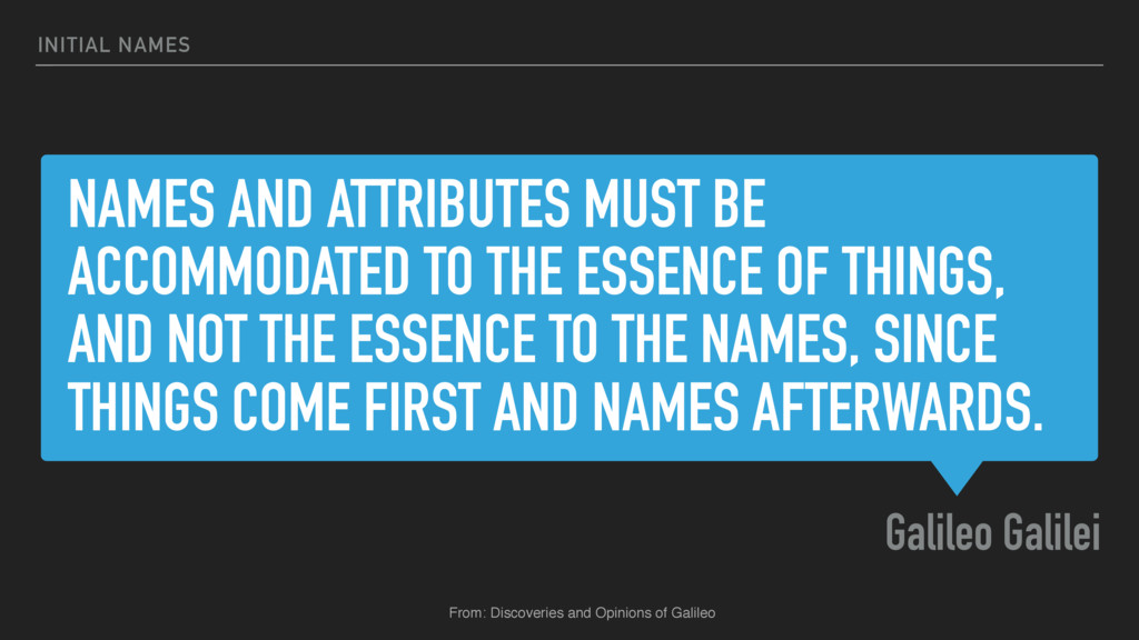 NAMES AND ATTRIBUTES MUST BE ACCOMMODATED TO TH...