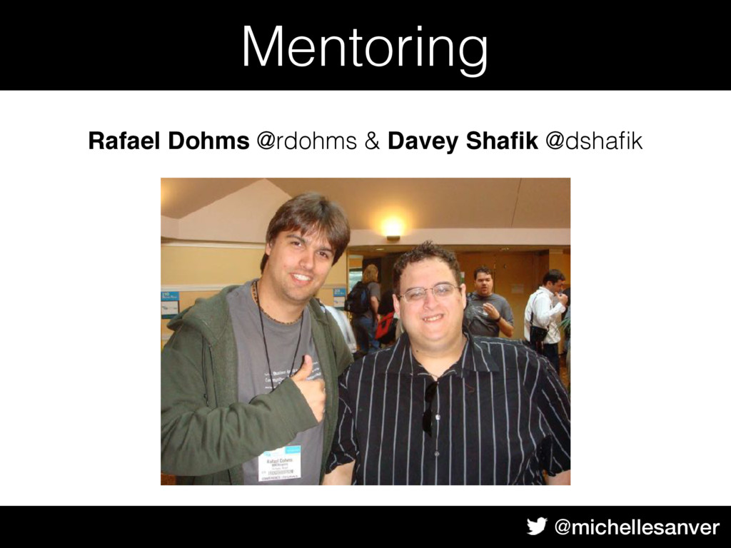 @michellesanver Body Text Mentoring Rafael Dohm...