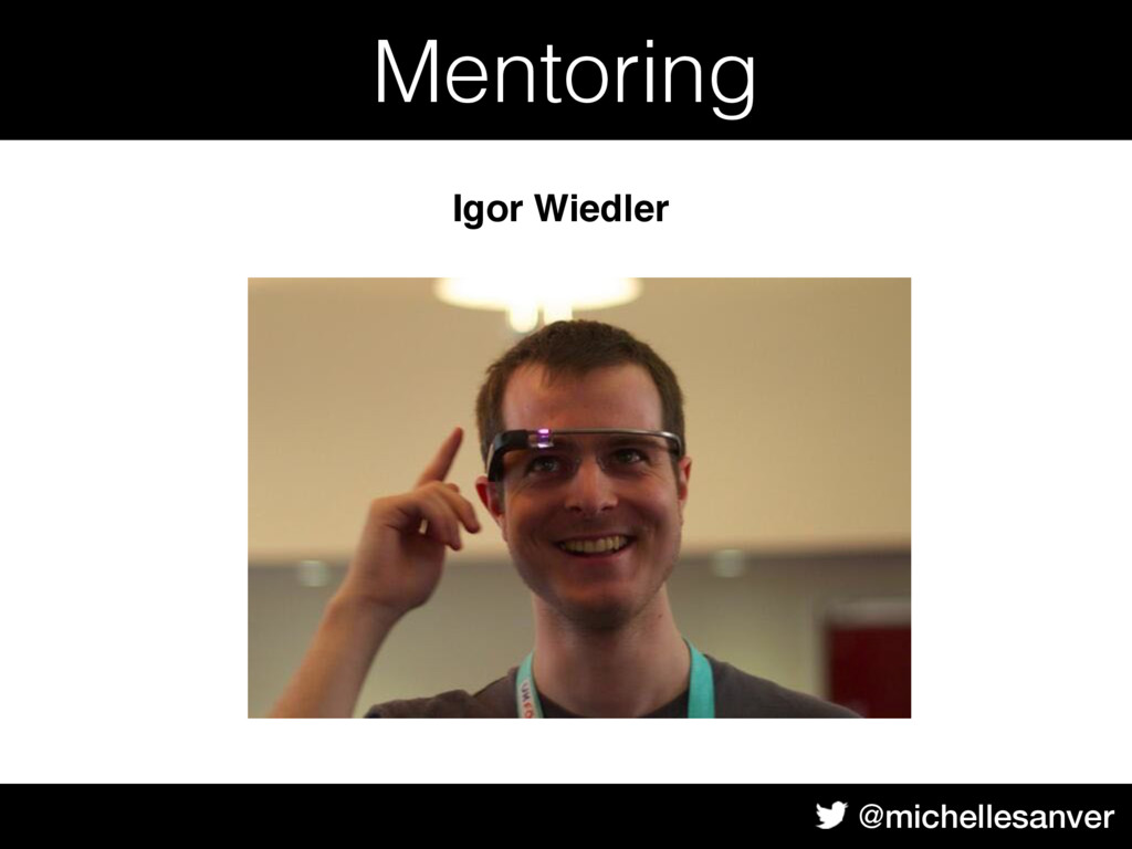 @michellesanver Body Text Mentoring Igor Wiedler