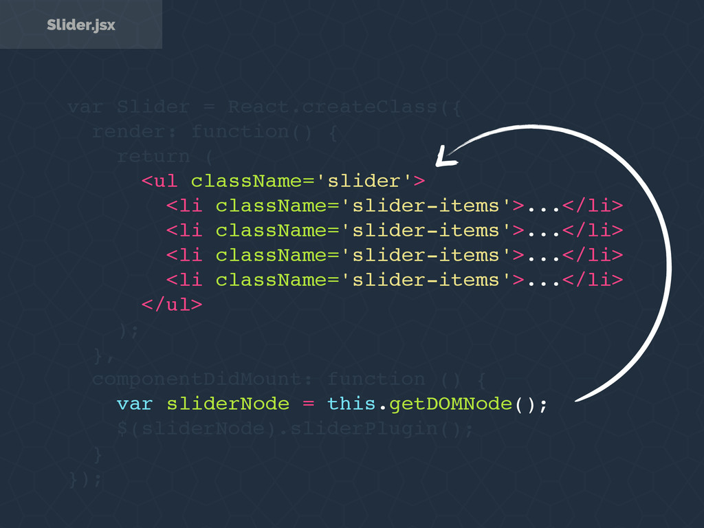 var Slider = React.createClass({ render: functi...
