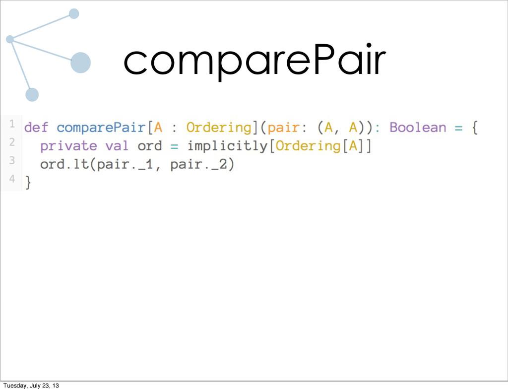 comparePair Tuesday, July 23, 13