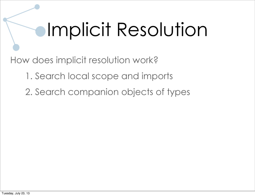Implicit Resolution How does implicit resolutio...