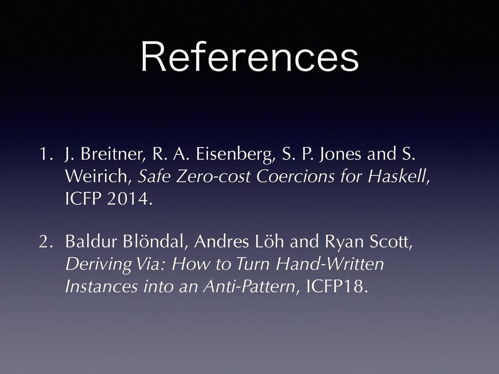 3FGFSFODFT 1. J. Breitner, R. A. Eisenberg, S. ...