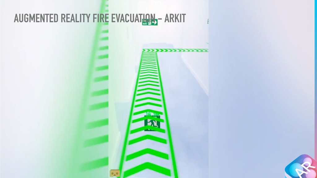 AUGMENTED REALITY FIRE EVACUATION - ARKIT