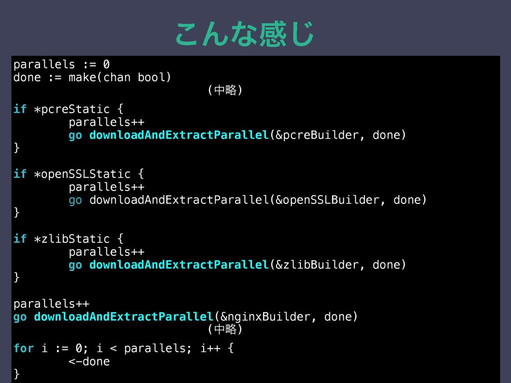 ͜Μͳײ͡ parallels := 0 done := make(chan bool) (த...