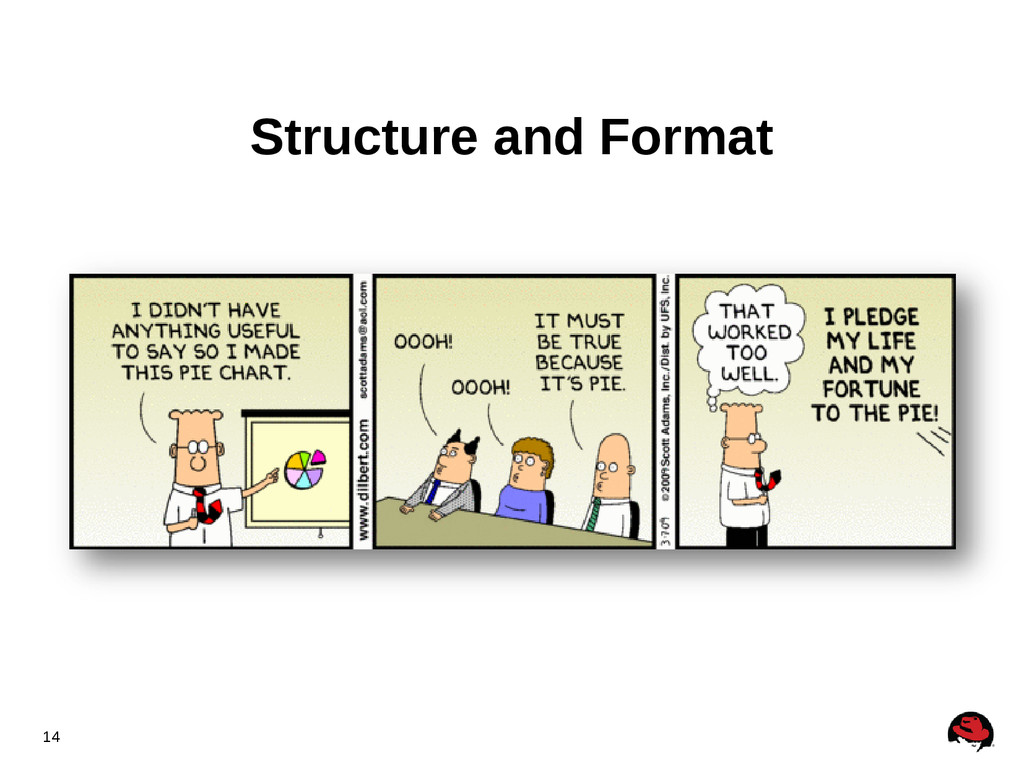 14 Structure and Format