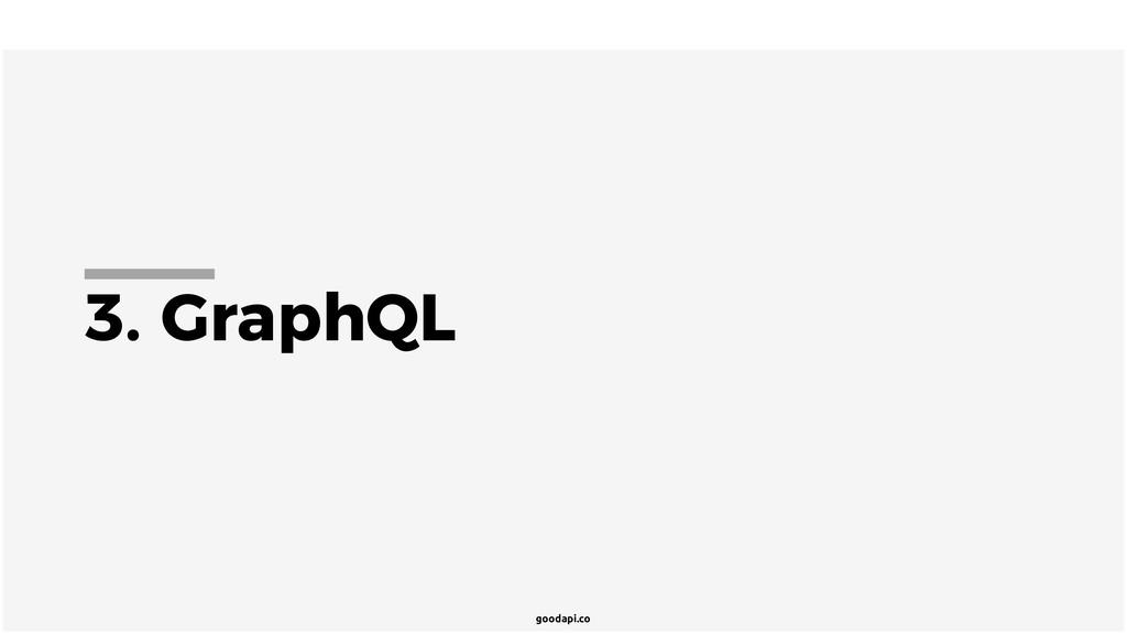goodapi.co 3. GraphQL