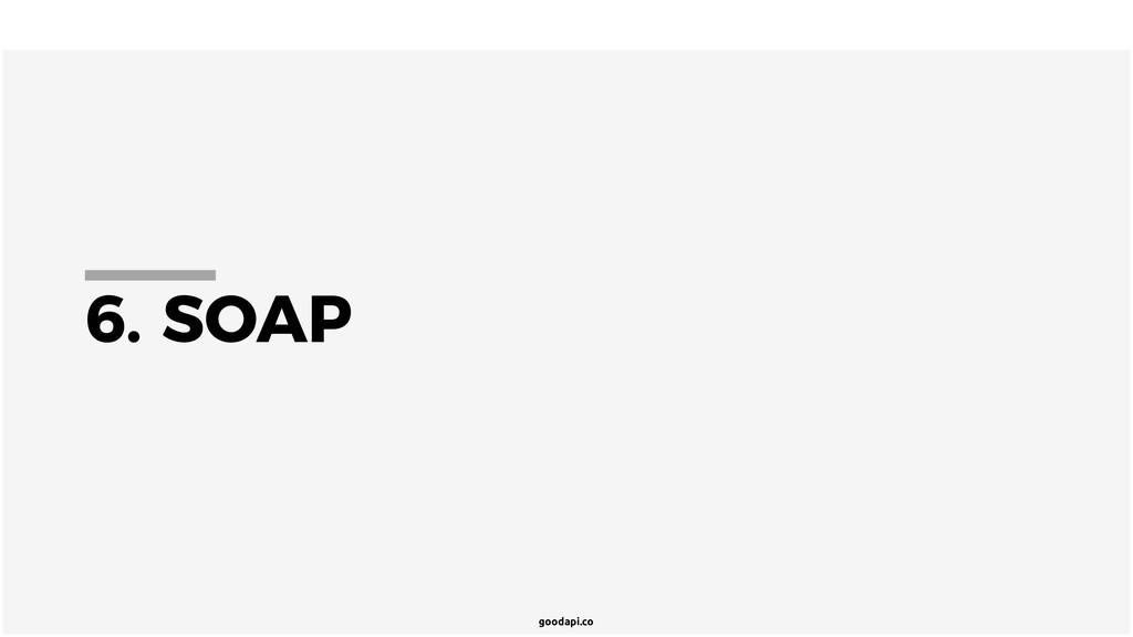 goodapi.co 6. SOAP