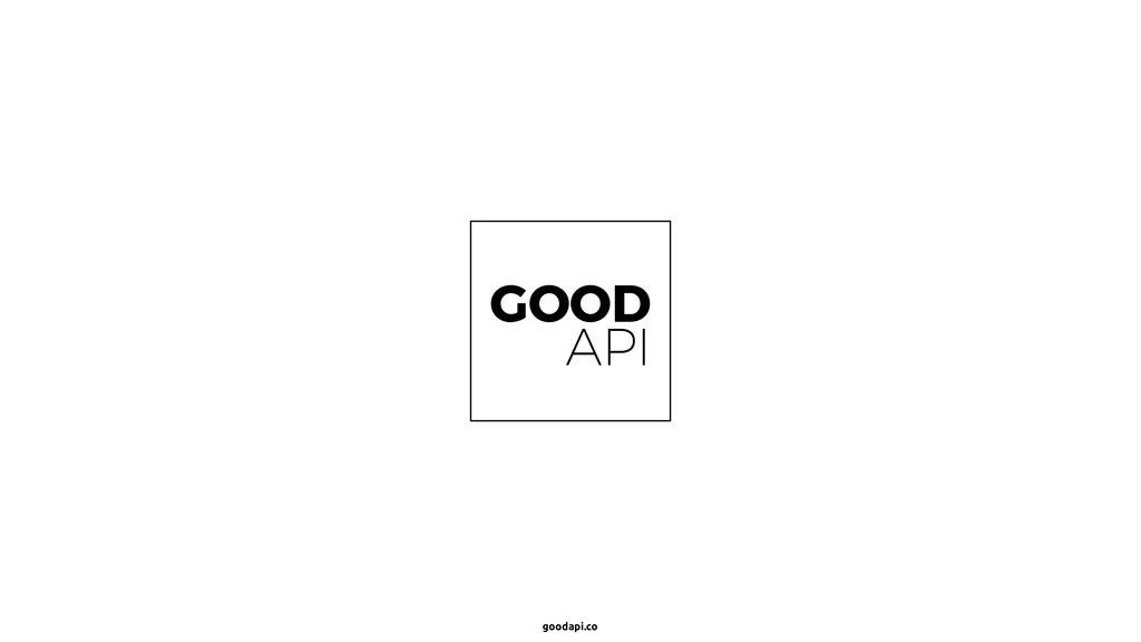 goodapi.co