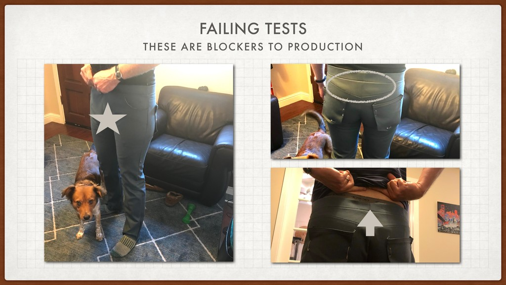 FAILING TESTS THESE ARE BLOCKERS TO PRODUCTION