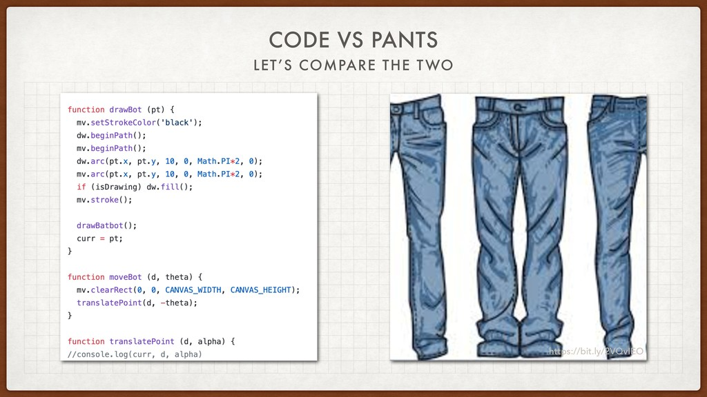 CODE VS PANTS LET'S COMPARE THE TWO https://bit...