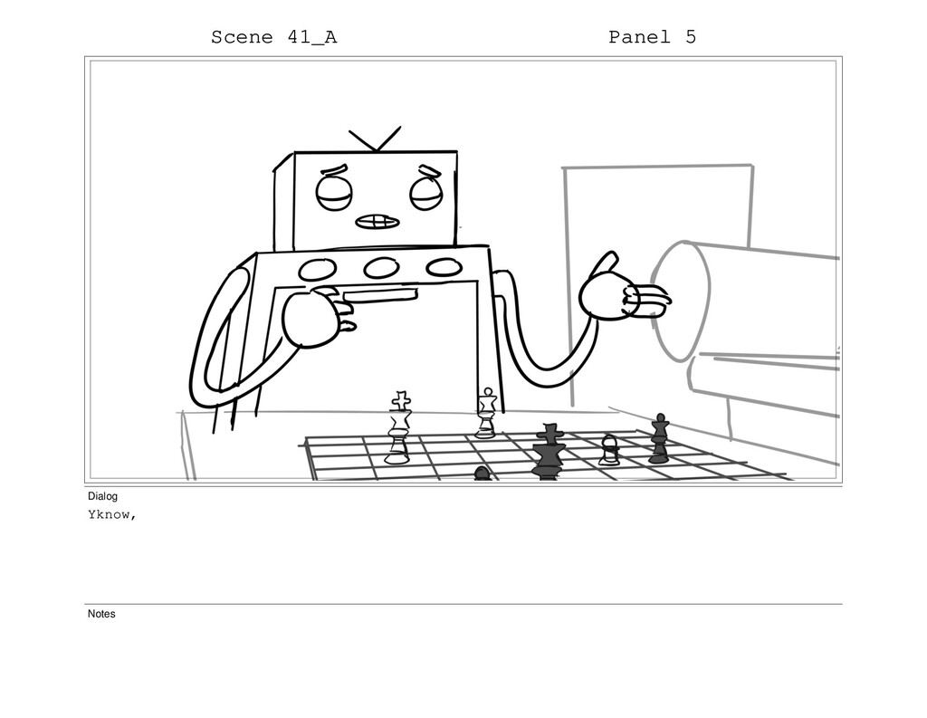 Scene 41_A Panel 5 Dialog Yknow, Notes