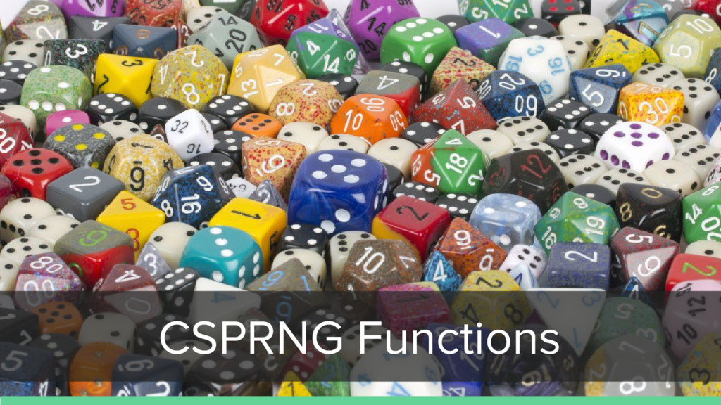 CSPRNG Functions