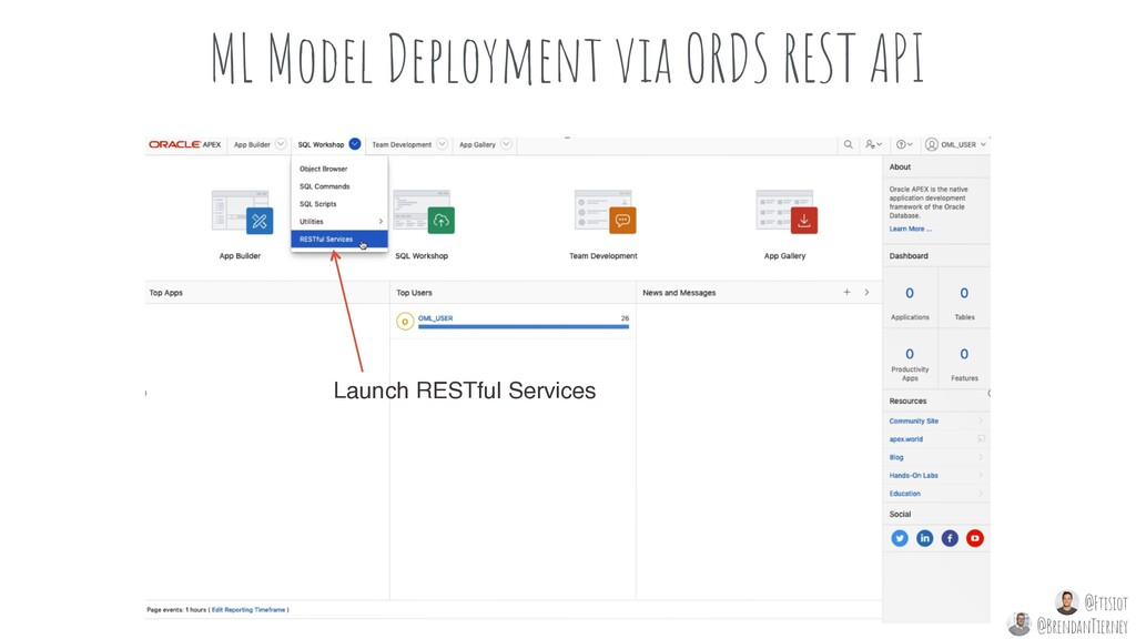 ML Model Deployment via ORDS REST API Launch RE...