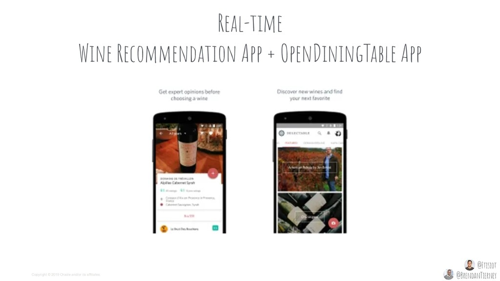 Real-time Wine Recommendation App + OpenDiningT...