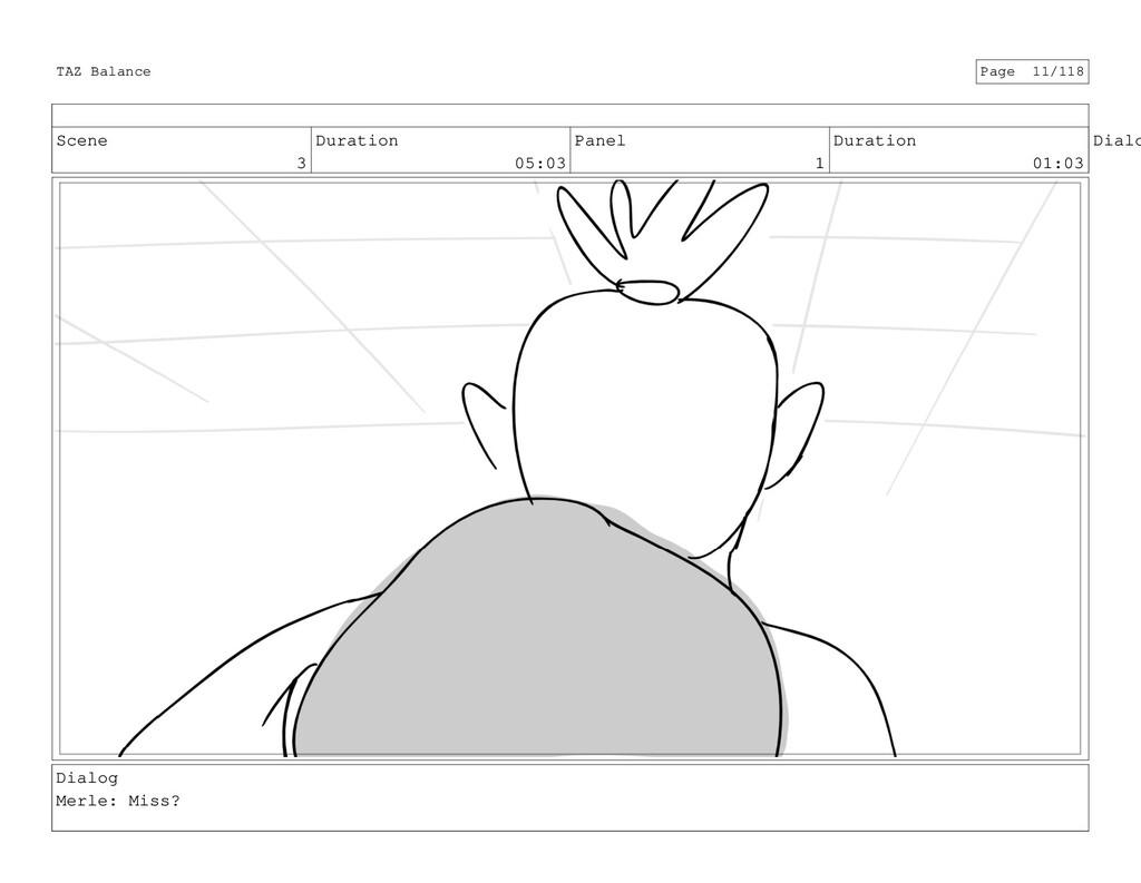 Scene 3 Duration 05:03 Panel 1 Duration 01:03 D...