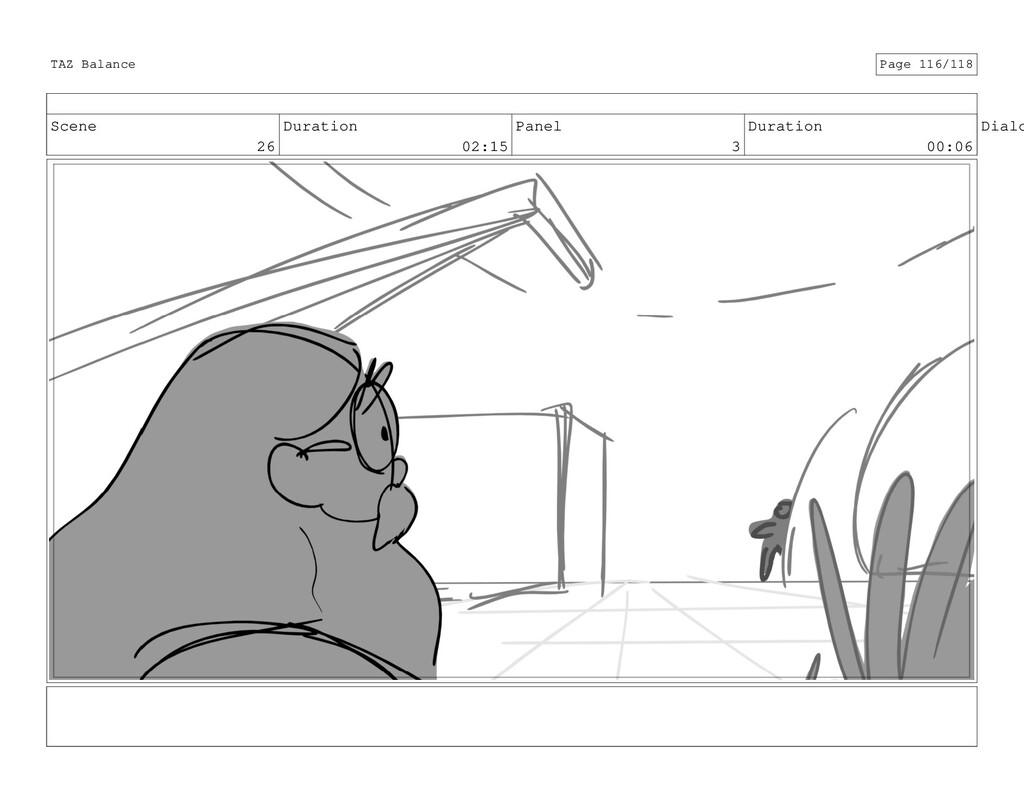 Scene 26 Duration 02:15 Panel 3 Duration 00:06 ...