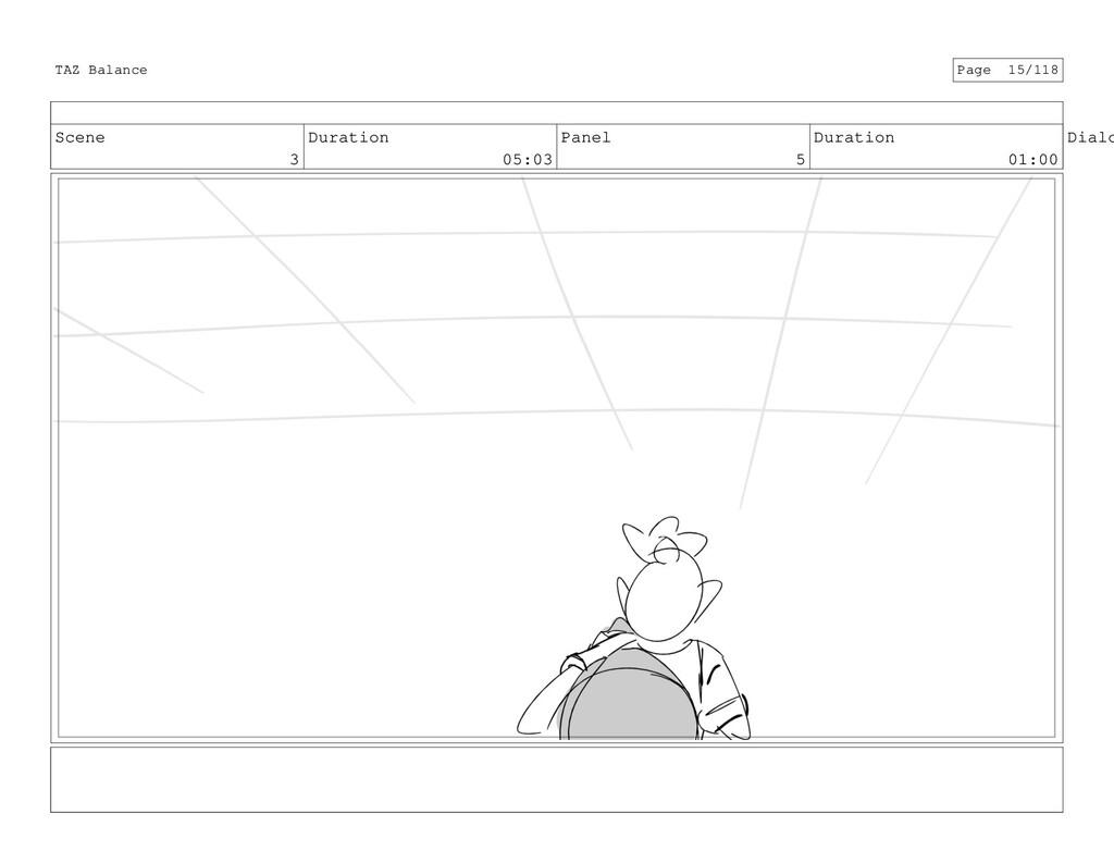 Scene 3 Duration 05:03 Panel 5 Duration 01:00 D...