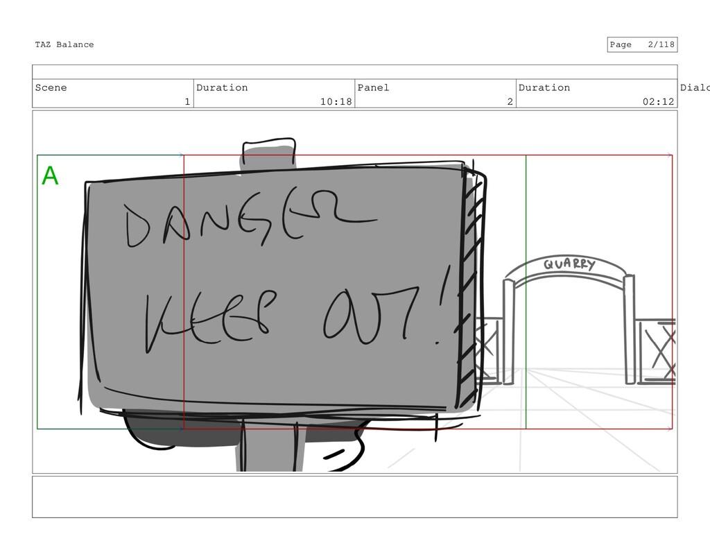 Scene 1 Duration 10:18 Panel 2 Duration 02:12 D...