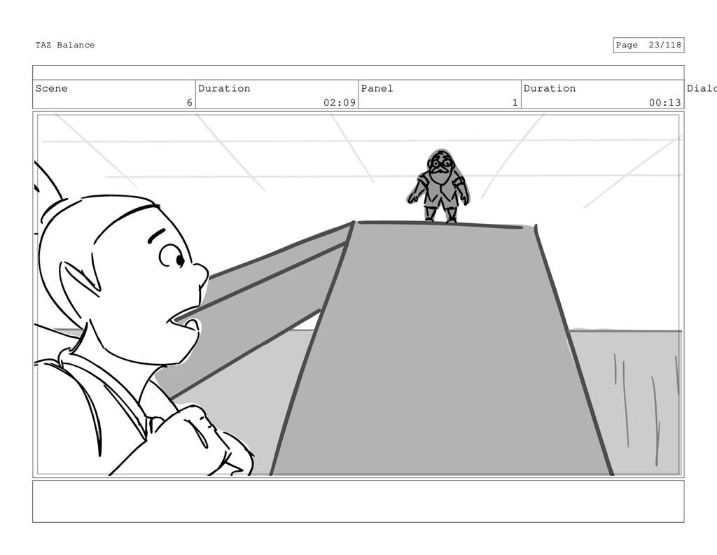 Scene 6 Duration 02:09 Panel 1 Duration 00:13 D...