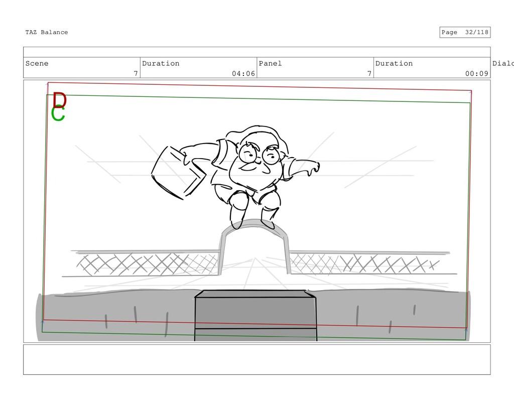 Scene 7 Duration 04:06 Panel 7 Duration 00:09 D...