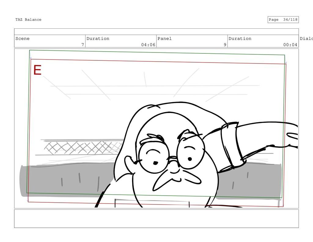 Scene 7 Duration 04:06 Panel 9 Duration 00:04 D...