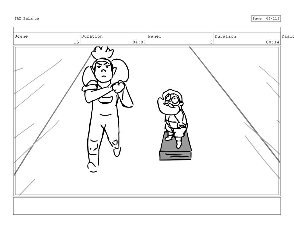 Scene 15 Duration 04:07 Panel 3 Duration 00:14 ...