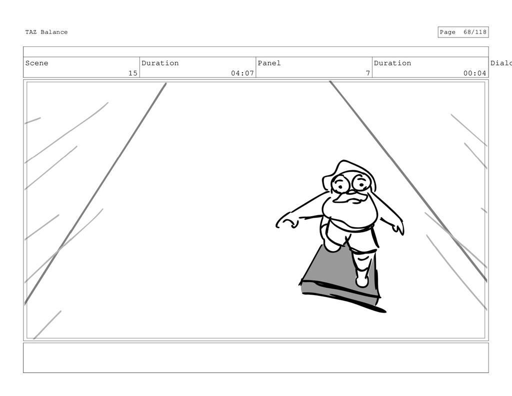 Scene 15 Duration 04:07 Panel 7 Duration 00:04 ...