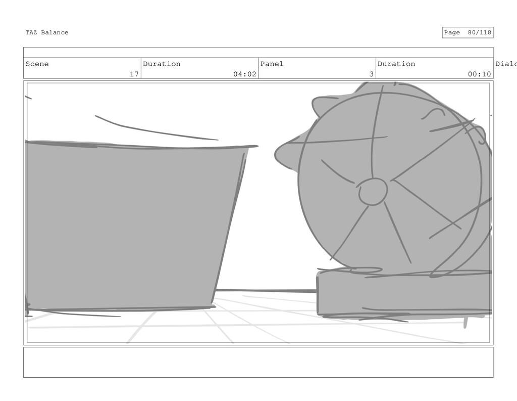 Scene 17 Duration 04:02 Panel 3 Duration 00:10 ...