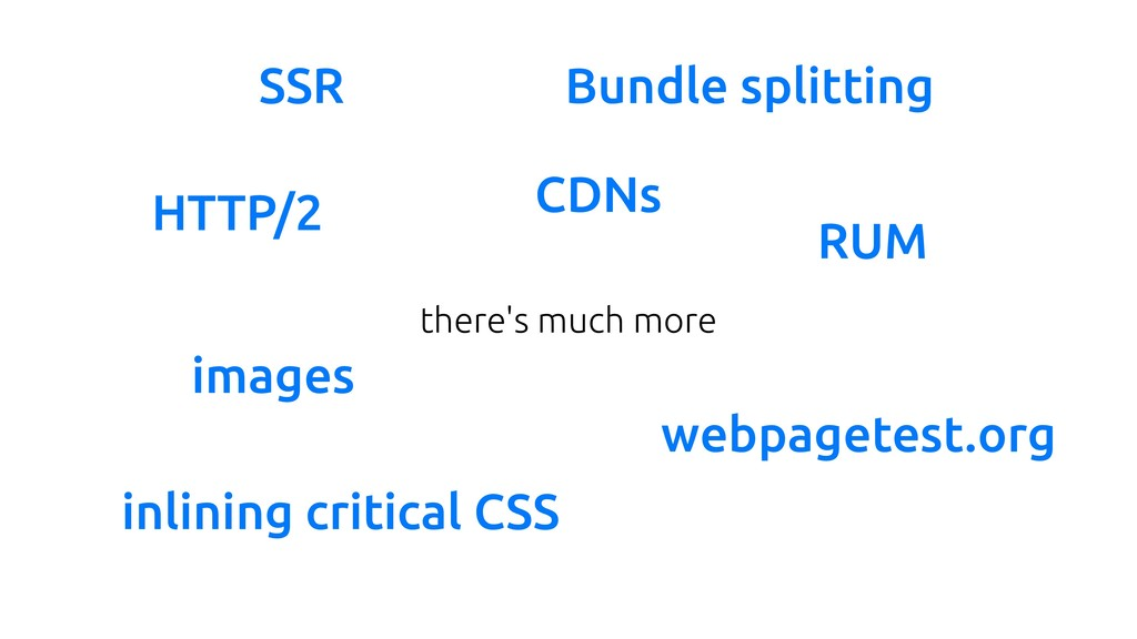 there's much more HTTP/2 CDNs inlining critical...