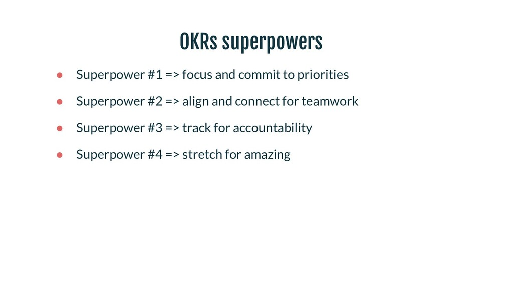 ● Superpower #1 => focus and commit to prioriti...