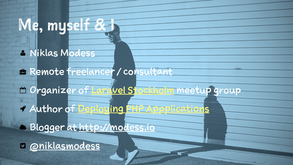 Me, myself & I Niklas Modess Remote freelancer ...