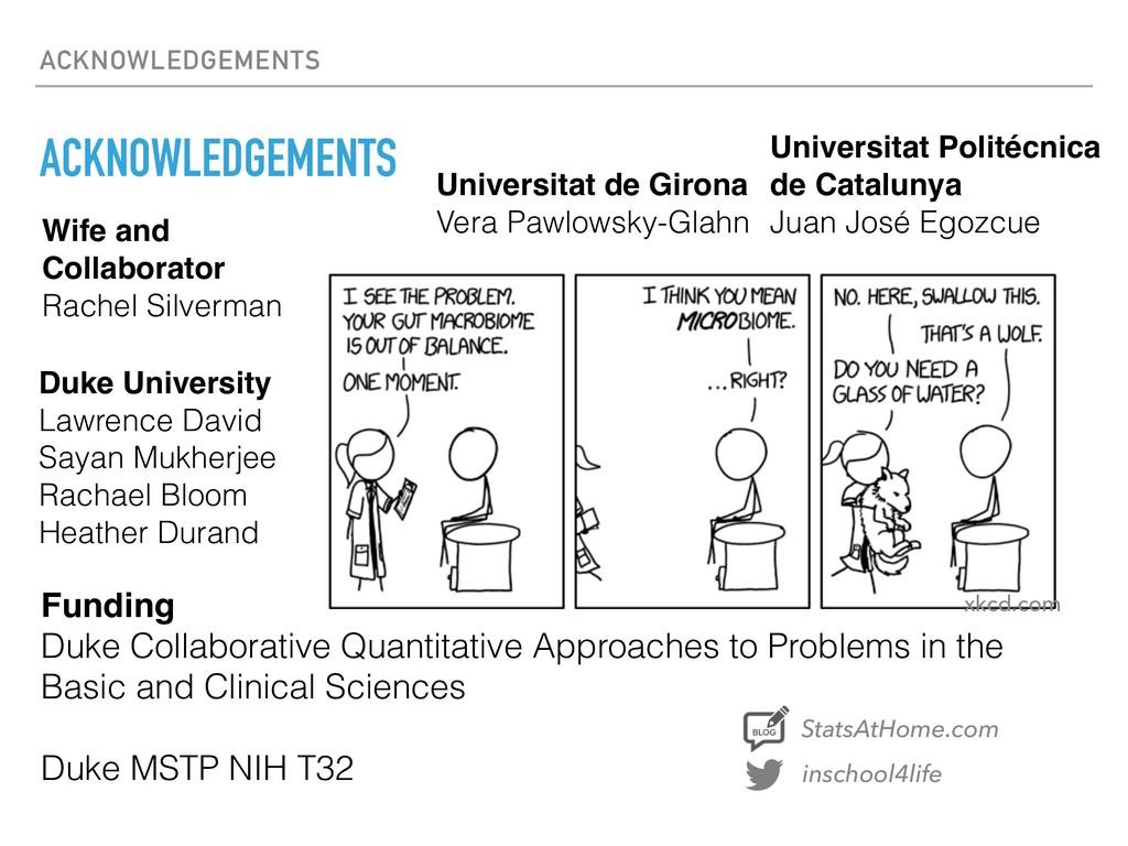 ACKNOWLEDGEMENTS ACKNOWLEDGEMENTS Duke Universi...