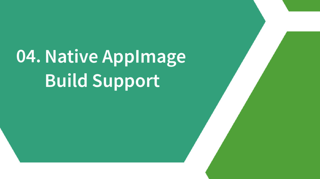 04. Native AppImage Build Support