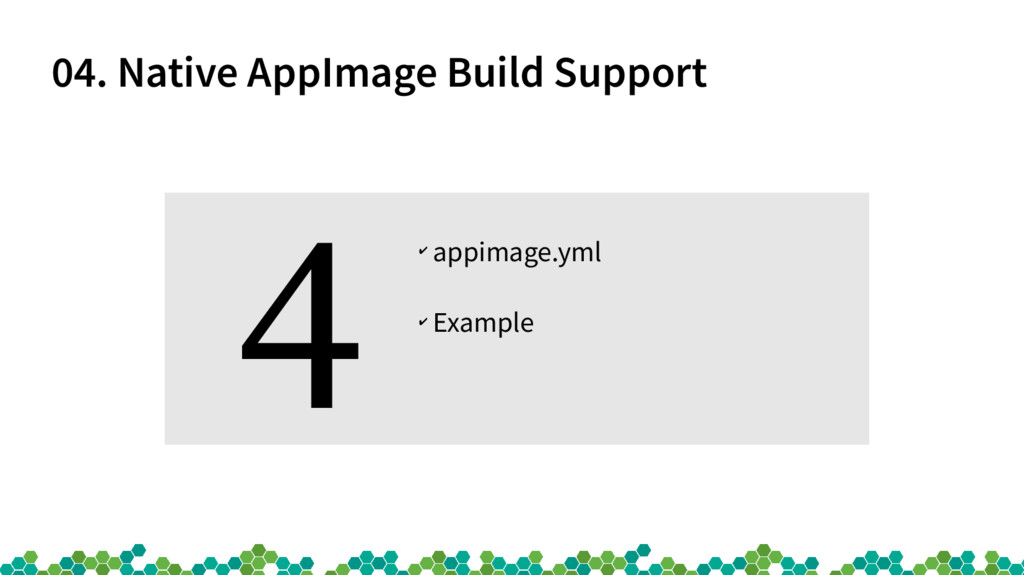 04. Native AppImage Build Support ✔ appimage.ym...