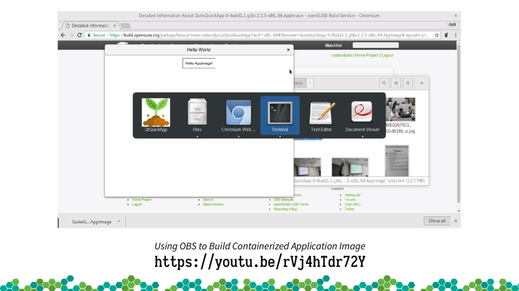 Using OBS to Build Containerized Application Im...