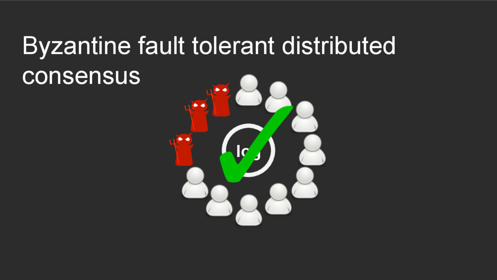 Byzantine fault tolerant distributed consensus ...