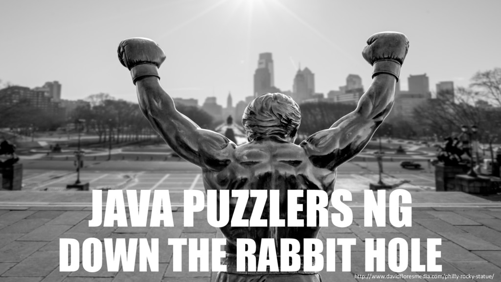 JAVA PUZZLERS NG DOWN THE RABBIT HOLE http://ww...