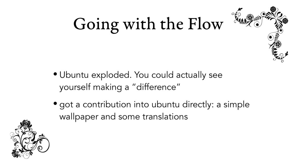 Going with the Flow • Ubuntu exploded. You coul...