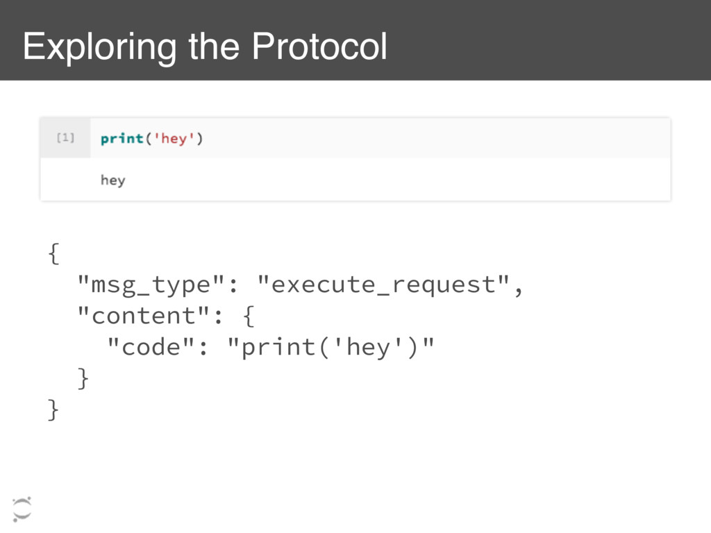 """Exploring the Protocol { """"msg_type"""": """"execute_r..."""